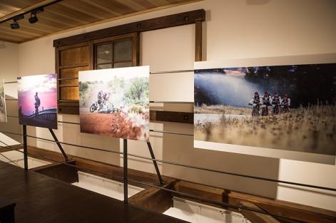 お茶の水にある『蔵』で開催した写真展。