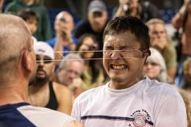 アラスカで開催されているインディアン&エスキモーのオリンピック。