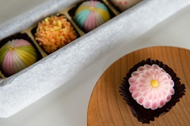 見た目にも美しい和菓子